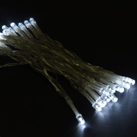 battery outdoor string lights 2x 30 white led string lights battery operated christmas