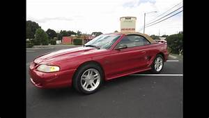 SOLD 1998 Ford Mustang GT Convertible 83K Miles Meticulous Motors Inc Florida For Sale - YouTube