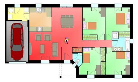 plan de maison 4 chambres gratuit plan maison 4 chambres plan maison livres