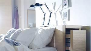 Tete De Lit Bois Ikea : tete de lit rangement ikea malm ~ Preciouscoupons.com Idées de Décoration