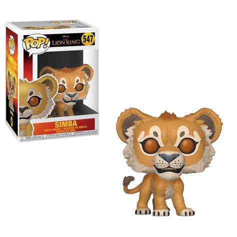 disney  lion king  simba pop vinyl figure merchandise zavvi