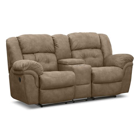 Reclining Console Loveseat by Loveseats Living Room Seating American Signature Furniture