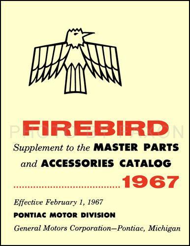 automotive service manuals 1969 pontiac firebird spare parts catalogs 1967 pontiac firebird illustrated parts book catalog with part numbers ebay