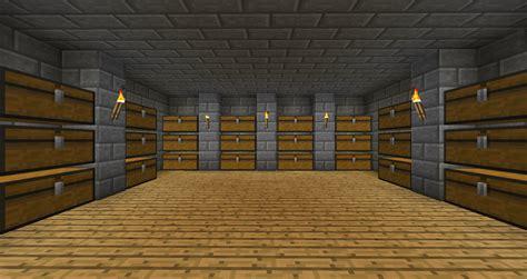 storage rooms survival mode minecraft discussion