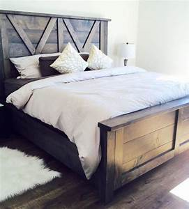 best 25 barn door headboards ideas on pinterest pallet With barn door style headboard