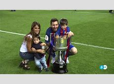 How Leo Messi & Suarez celebrated the Copa del Rey with