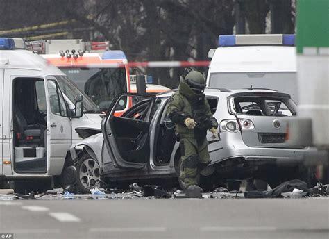 Terror in Berlin as driver dies after 'explosive device ...