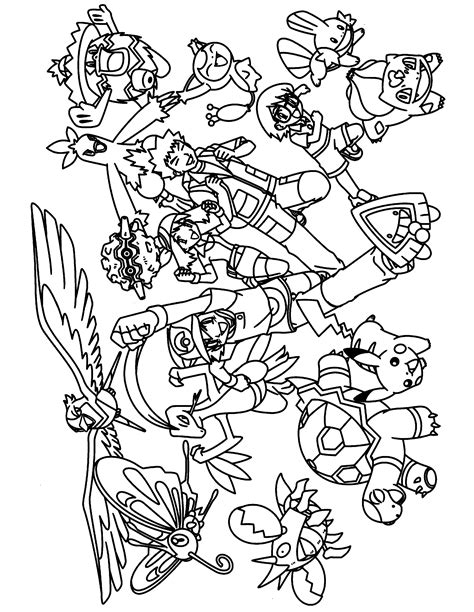 pokemon advanced coloring pages lineart pokemon