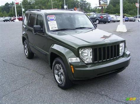 green jeep liberty 2008 2008 jeep green metallic jeep liberty sport 17548113