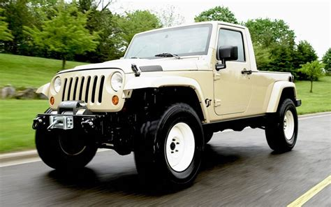 jeep pickup   build  business case   auto news truck trend