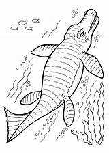 Dinosaur Coloring Dinosaurs Printable Undersea Drawing Dino Sea Neck Under Underwater Easter Colouring 4kids Bubakids Cartoon Getdrawings Outline Coloing Triceratops sketch template