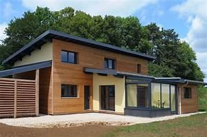 Ossature Bois Maison : nos maisons ossature bois maison ossature bois boillod ~ Melissatoandfro.com Idées de Décoration