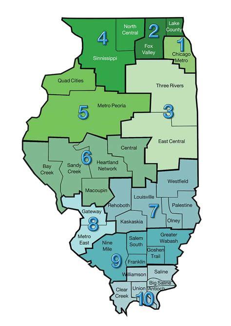 association zones map ibsa illinois baptists