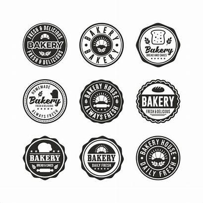 Bakery Stamp Premium Logos Badge Boulangerie Timbres