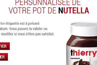 personnalisation pot de nutella tartine ton pr 233 nom sur ton pot de nutella paperblog