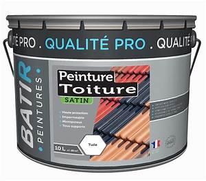 Peinture Pour Toiture : peinture toiture satin 10 l tuiles m caniques tuiles ~ Melissatoandfro.com Idées de Décoration