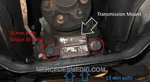 Diy How To Replace Transmission Mount Mercedes