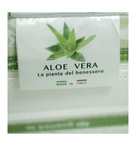 Materasso Memory Aloe Vera by Materasso Memory Foam In Aloe Vera
