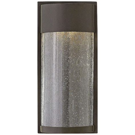 hinkley shelter 12 quot high led bronze outdoor wall light