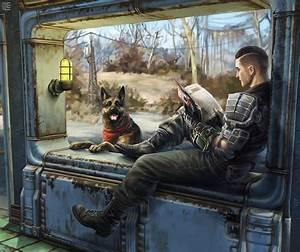 Sole survivor fallout fan art dogmeat   Fan Tributes ...