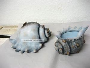 Maritime Deko Fürs Bad : angebot dekoration 2 keramik muschel maritim martime bad deko aquarium muscheln ~ Markanthonyermac.com Haus und Dekorationen