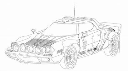 Coloring Furious Fast Cars Pages Race Rally