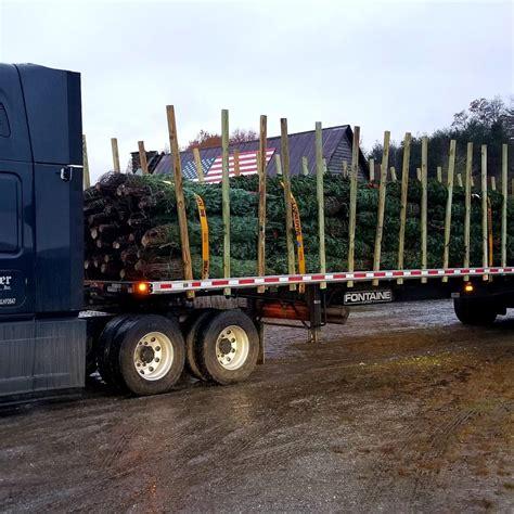 christmas tree farms chattanooga fresh cut trees headed to our chattanooga lot tom sawyer tree farm