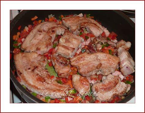 cuisiner le tendron de veau tendron de veau à la paysanne le sachet d 39 épices