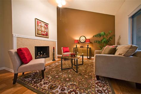 Two Tone Living Room Wall Colors Home Combo
