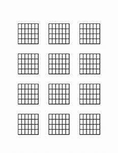Seven String Guitar Chord Diagrams