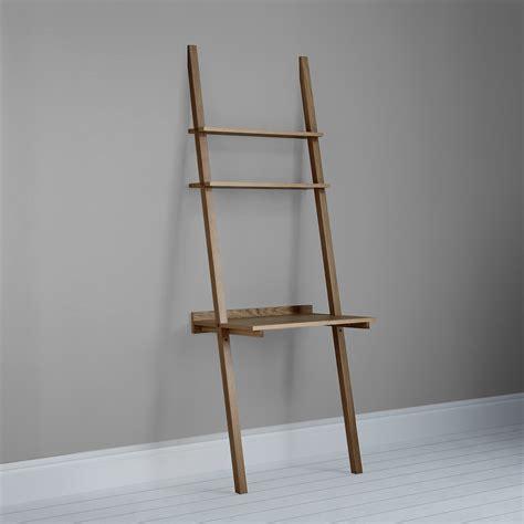 ladder shelf desk white outstanding ladder shelves with wooden materials in dark