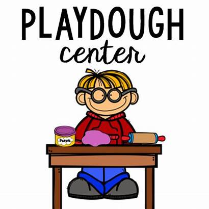 Centers Preschool Clipart Playdough Commotion Lovely Clipartmag