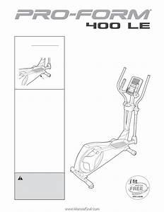 Proform 400 Le Elliptical