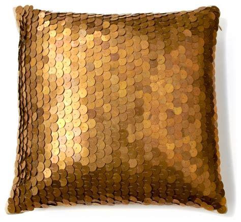 nate berkus metallic sequin pillow contemporary
