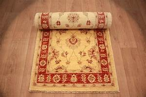Langer Schmaler Teppich : ziegler teppich orientteppich beige langer l ufer 371x81 cm ~ Sanjose-hotels-ca.com Haus und Dekorationen