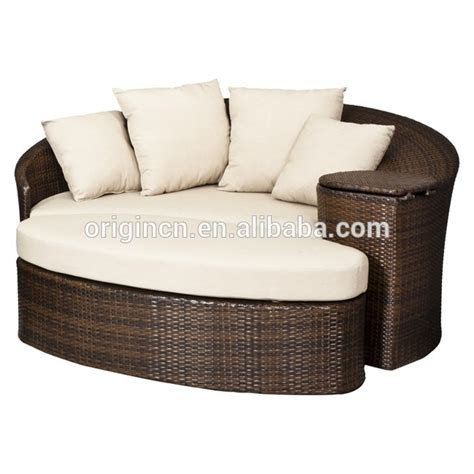 patio loveseat and ottoman sectional sun bed with
