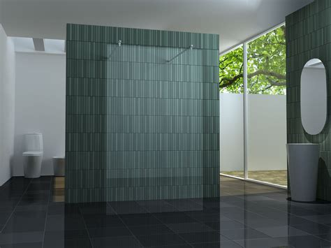 duschwand mit tür freistehende 120 duschwand duschabtrennung walk dusche duschtrennwand 10 mm glas ebay
