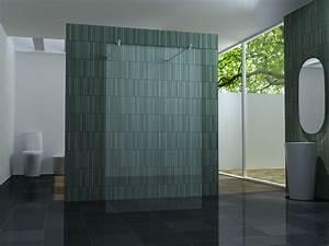 Glasscheibe Für Dusche : freistehende 120 duschwand duschabtrennung walk dusche ~ Lizthompson.info Haus und Dekorationen