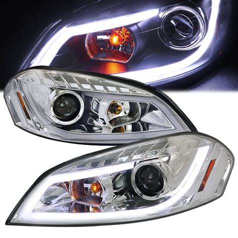 spec d 06 13 chevy impala led drl projector