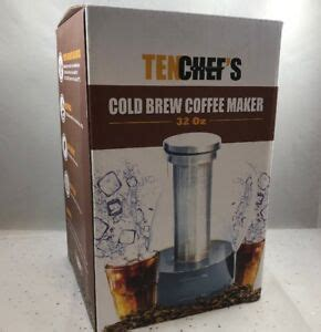 Compare today's top prices including specs, expert ratings and much more. Cold Brew Coffee Maker TenChefs 32 oz NEW 709202435510 | eBay
