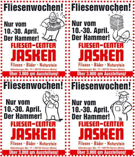 Fliesen Jasken by Jasken Fliesen Center Werbeagentur Emsland Pr Und