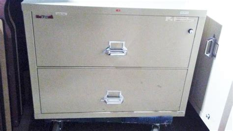 used office file cabinets fire king fire files 2 drawer
