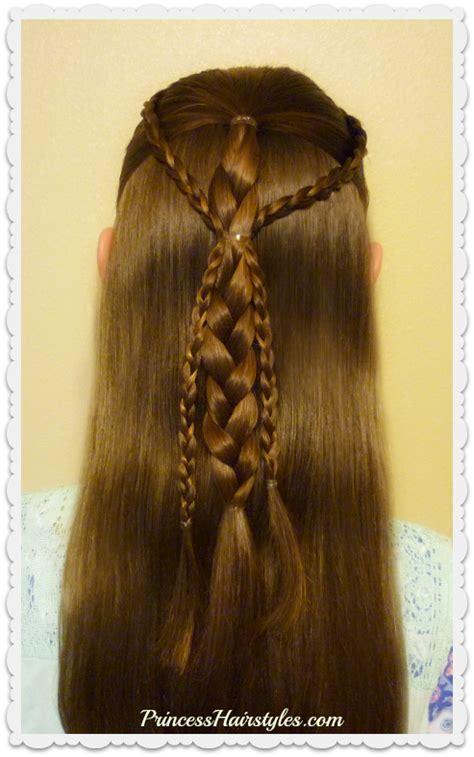 Easy Princess Hairstyles For by And Easy Hairstyle For School Simple Gathered