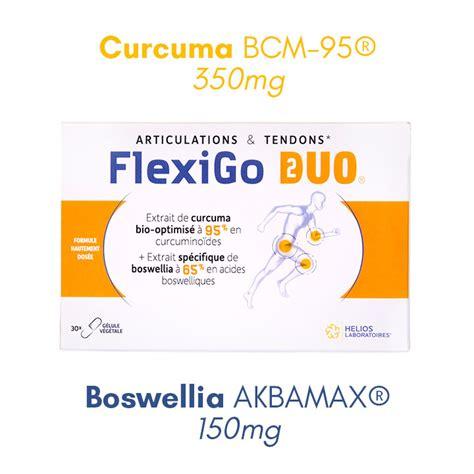 FlexiGo Duo : curcuma + boswellia - Helios Laboratoires