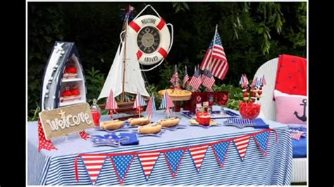 nautical theme party decor  home youtube