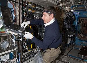 At Work in the Destiny Laboratory of the International ...
