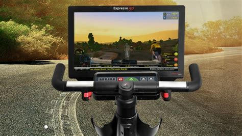 Expresso HD Upright Bike Uses Real Steering and Active ...