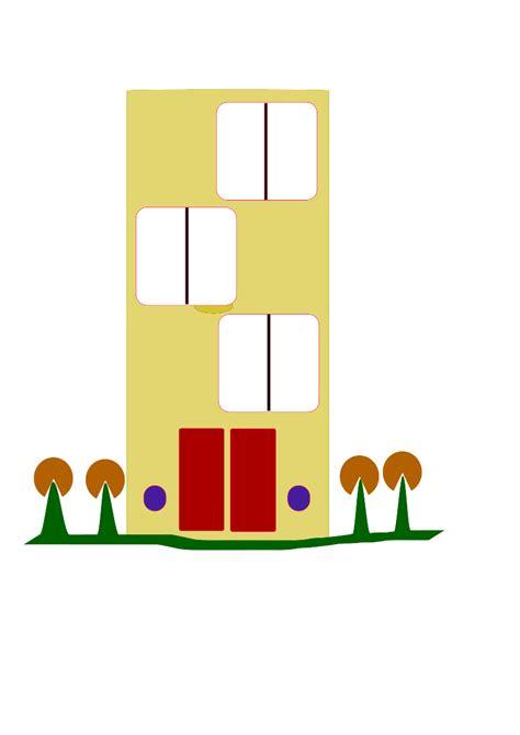 Apartment Complex Clipart