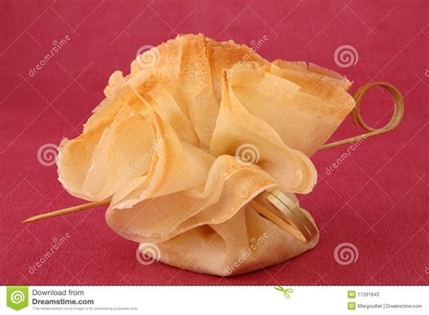 filo pastry cases canapes filo pastry canape food stock photos image 17291843