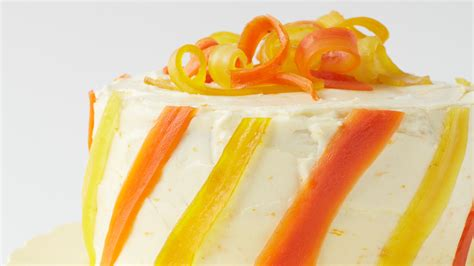 spectacular carrot cake  candied